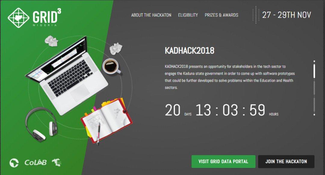 Grid3 eHealth kadhack2018 hackathon